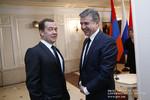 Մոսկվայում հանդիպել են ՀՀ և ՌԴ վարչապետերը (24.01.2017)