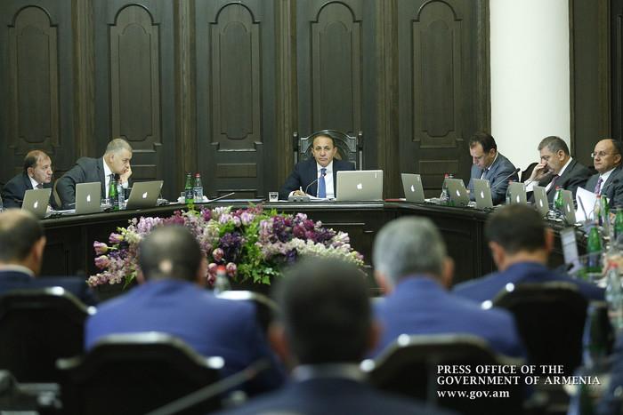 Правительство Армении утвердило программу среднесрочных государственных расходов на 2017-2019 гг.