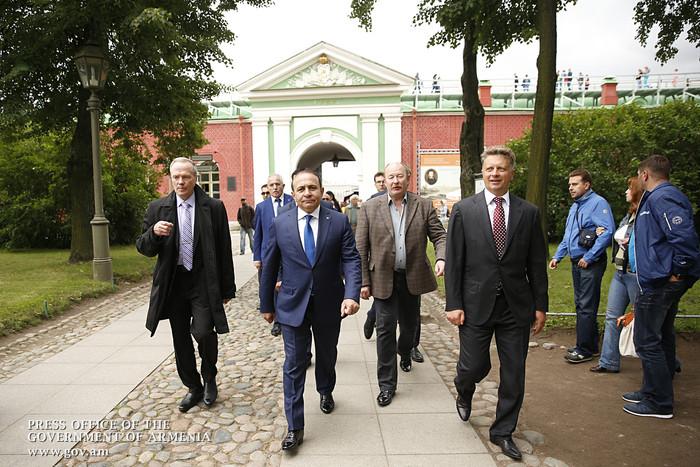 Սանկտ Պետերբուրգի մեր հայրենակիցներն իրենց ծավալած գործունեությամբ բարձր են պահում հայ ազգի հեղինակությունը