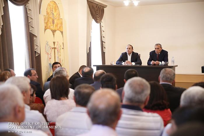 Премьер Армении отметил важность создания свободной экономической зоны близ границы с Ираном