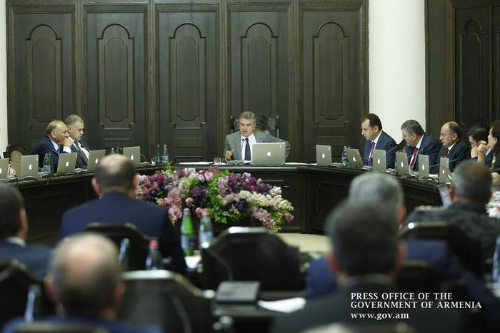 Վարչապետը հանձնարարել է Արդարադատության նախարարին կանոնակարգել գրավի իրացման գործընթացը