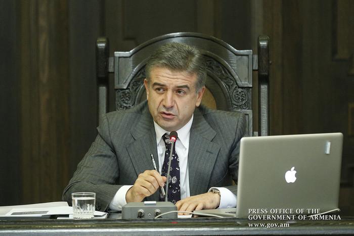 Премьер Карен Карапетян поручил заняться вопросом транспортного обслуживания в селах Армении