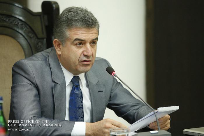 Премьер Армении поручил проверить целесообразность строительства малых ГЭС в бассейнах ряда рек