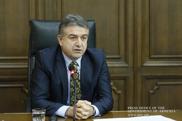 Премьер Армении: «Газпром Армения» не получает бюджетных субсидий