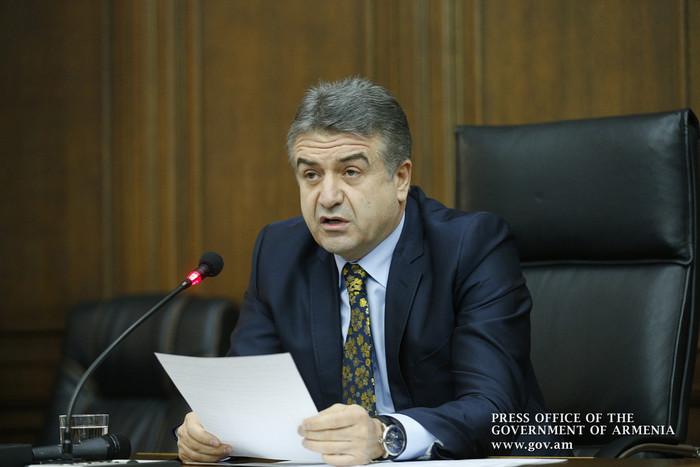 Премьер Армении К. Карапетян поручил начальнику Полиции представить концепцию реформ системы дорожной полиции