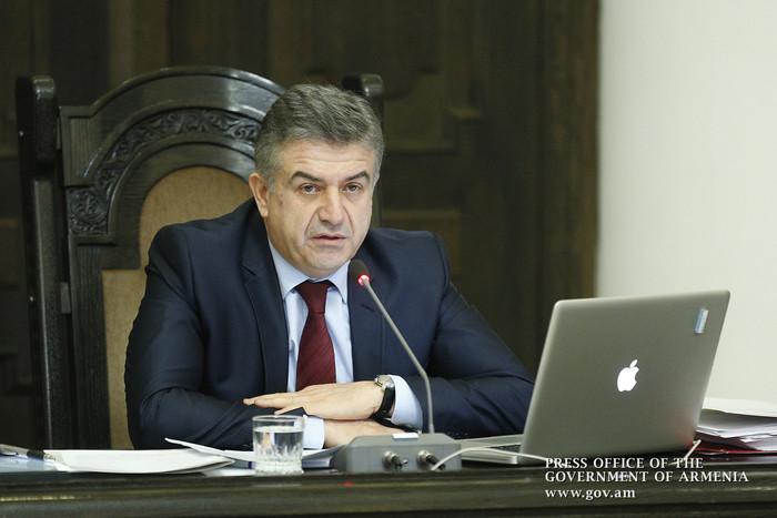 Премьер Карен Карапетян решил стать членом правящей Республиканской партии Армении