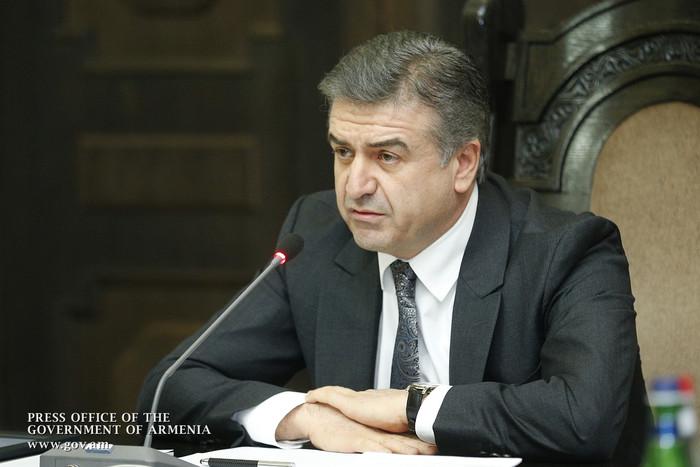 Премьер Армении Карен Карапетян поручил Минздраву передать управление областными больницами менеджерам из Еревана