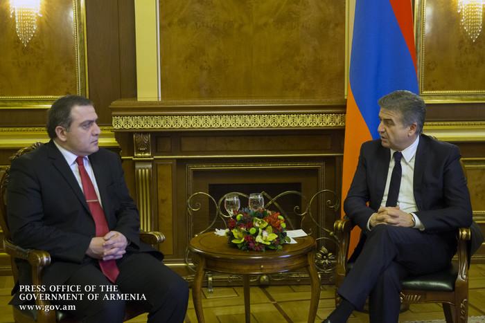 ՀՀ վարչապետն ընդունել է Հայաստանում Վրաստանի արտակարգ և լիազոր դեսպանին