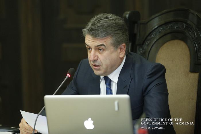 Премьер Армении Карен Карапетян: Выходных дней было не слишком ли много?