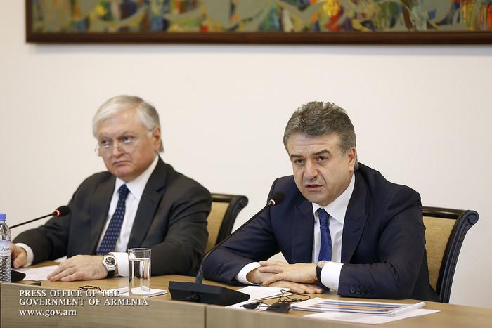 Карен Карапетян обещал иностранным послам: Мы сделаем все для обеспечения прозрачных парламентских выборов