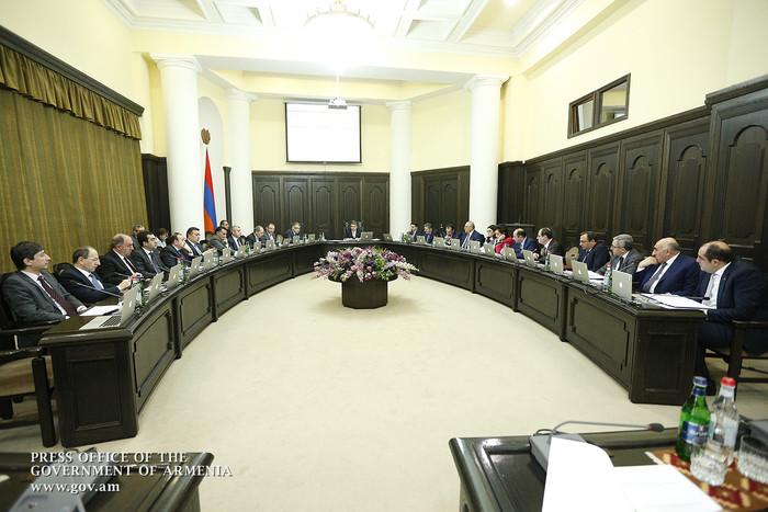 «Грапарак»: В Армении ожидается смена ряда министров