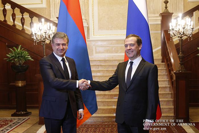Саргсян— членам Евразийского межправительственного совета: нужно устранить технические барьеры