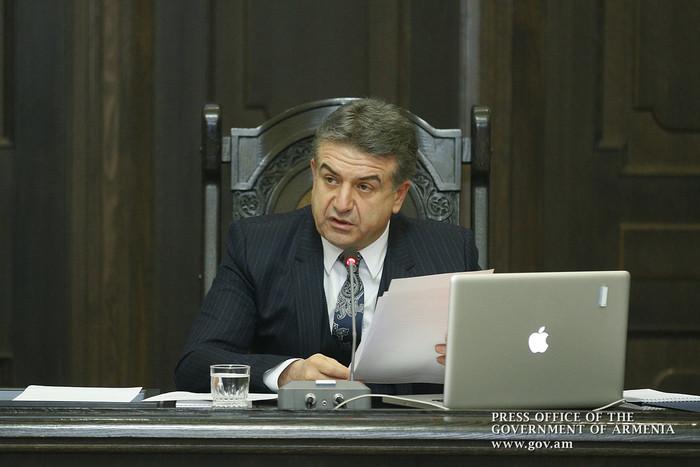 Премьер Армении: Для развития экономики важно создание госструктурами благоприятных условий с целью улучшения бизнес-среды