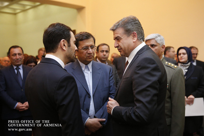 Իրանի Իսլամական հեղափոխության հաղթանակի 38-րդ տարեդարձի կապակցությամբ վարչապետը ներկա է գտնվել կազմակերպված միջոցառմանը