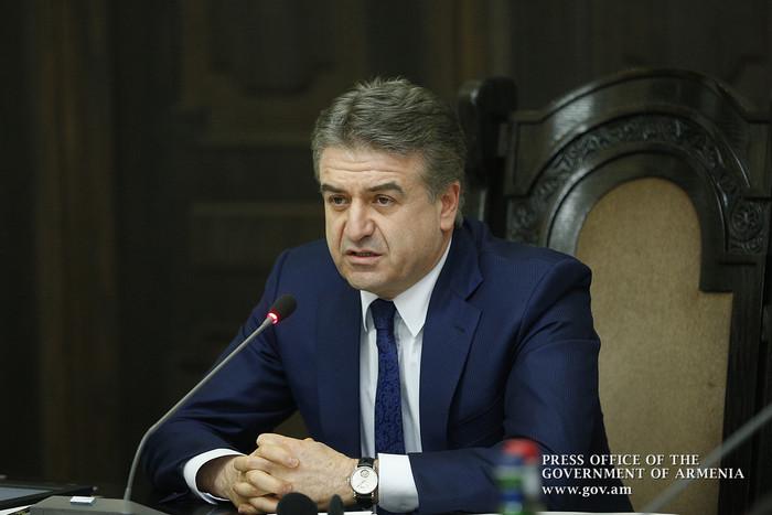 Премьер Карен Карапетян: Стартует программа «Чистая Армения»