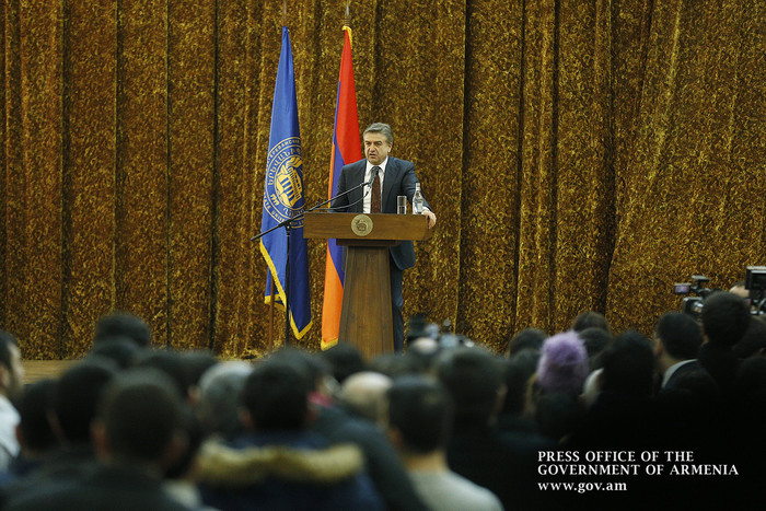 Карен Карапетян: Правительство Армении открыто для критики