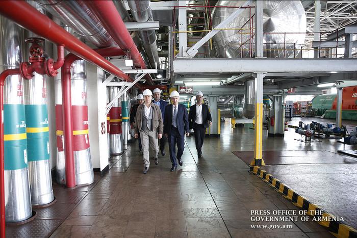Премьер-министр Армении посетил с рабочим визитом Армавирскую область