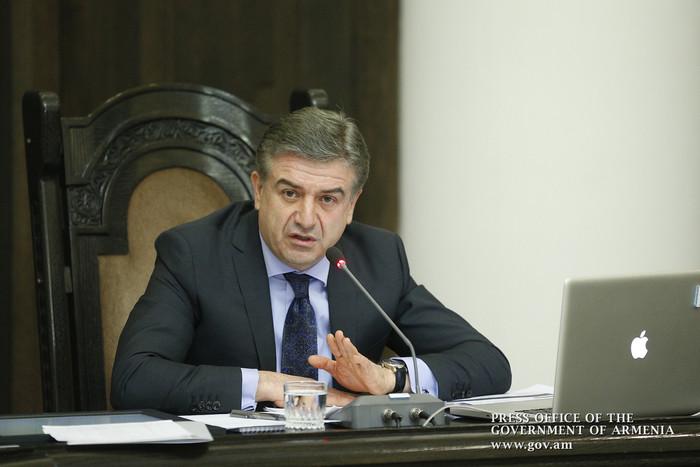 Премьер Армении предложил начальнику Полиции взять деятельность Дорожной полиции под личный контроль