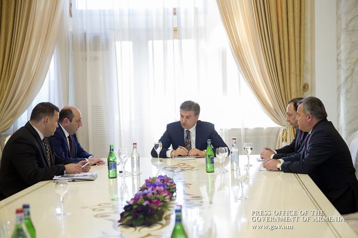 Премьер Армении поручил ускорить процесс создания свободной экономической зоны в Сюнике