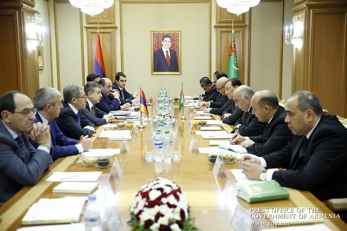 Туркменская сторона выразила заинтересованность в активном сотрудничестве с Арменией