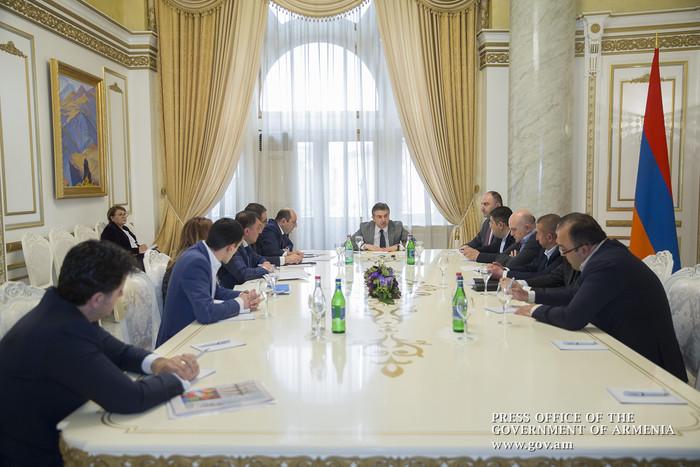 Премьер Армении Карен Карапетян: Наша задача – обеспечение равного конкурентного поля для бизнеса