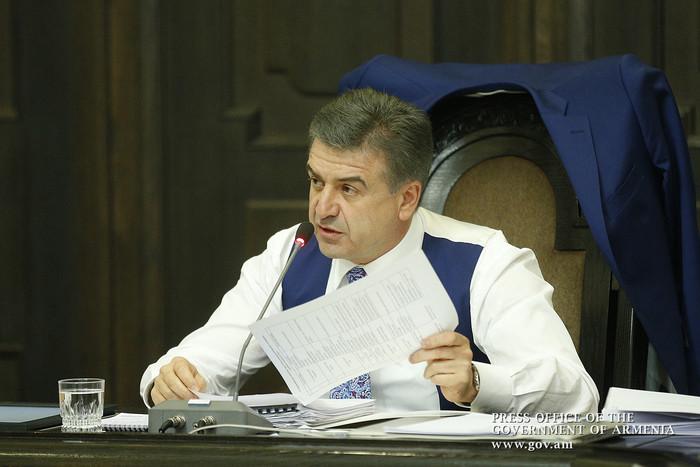 Карен Карапетян дал поручения по надлежащей организации мусороуборочных работ