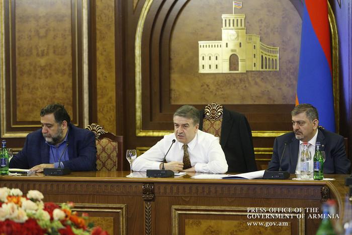 Рубен Варданян представил премьеру Карену Карапетяну новые инициативы Фонда IDeA по развитию Армении