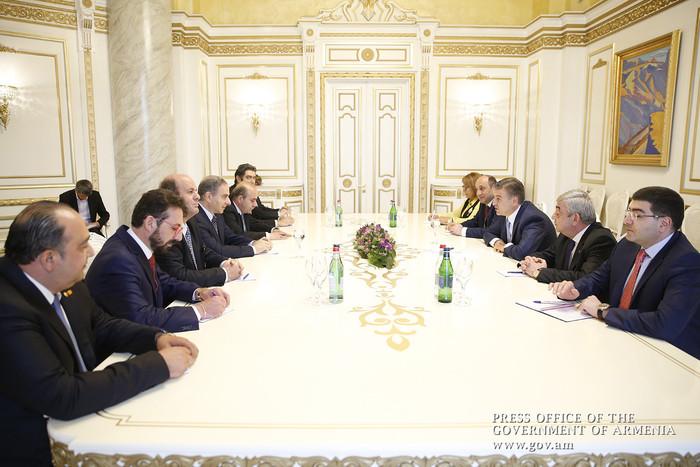 Премьер Карен Карапетян: Сотрудничество Армении и Ливана может охватывать множество сфер