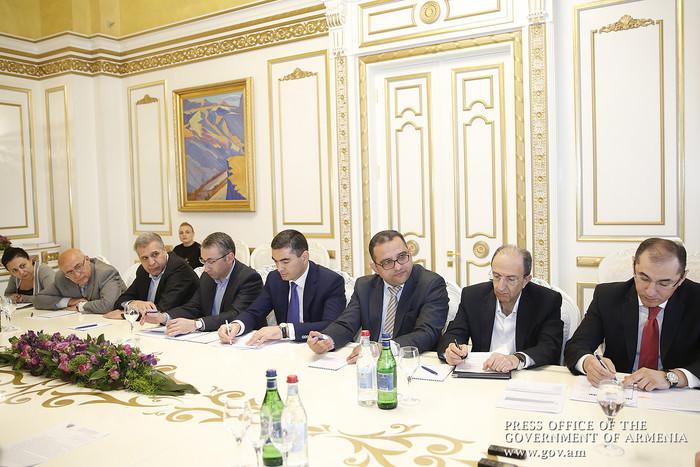 В правительстве Армении обсуждены вопросы развития сферы строительства