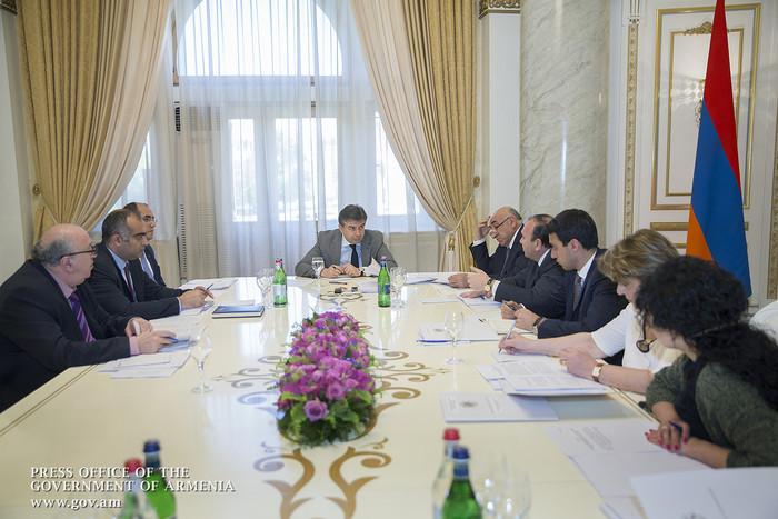 У премьера Армении Карена Карапетяна обсуждены вопросы повышения массовости предмета «Физкультура»
