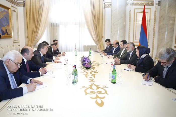 Карен Карапетян: Правительство Армении готово оказать иранским бизнесменам необходимое содействие
