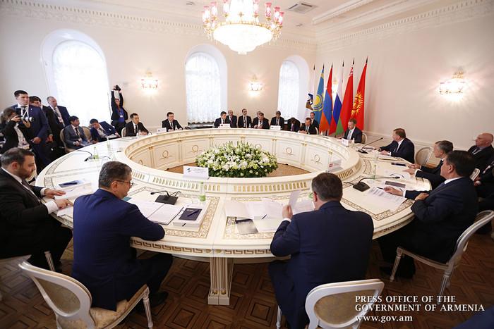 Тигран Саркисян: Можно констатировать начало нового этапа развития ЕАЭС