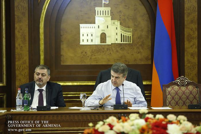 Карен Карапетян поручил срочно начать реализацию программы развития исторического центра Гюмри