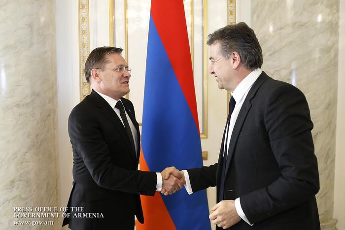Премьер-министр Армении и директор корпорации «Росатом» обсудили вопросы сотрудничества в сфере энергетики