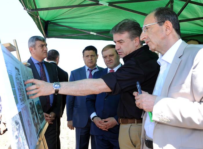 В Ереване построят этнографический квартал «Армянское село»