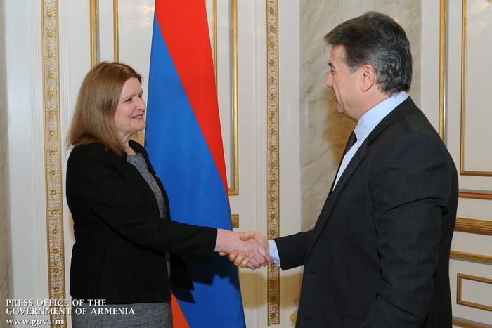 Карен Карапетян: Правительство Армении заинтересовано в расширении сотрудничества с Соединенным Королевством
