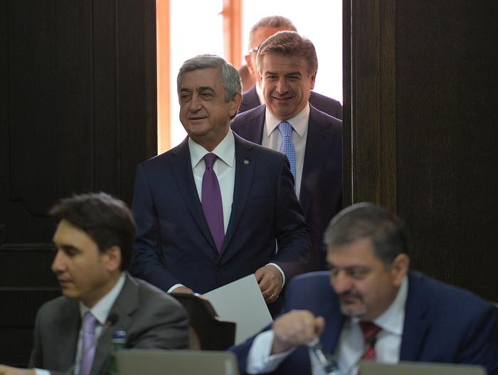 Серж Саргсян: Армения внедряет новые и довольно влиятельные средства по борьбе с коррупцией