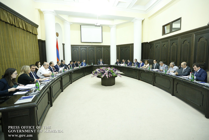 Состоялось заседание Совета развития малого и среднего предпринимательства Армении