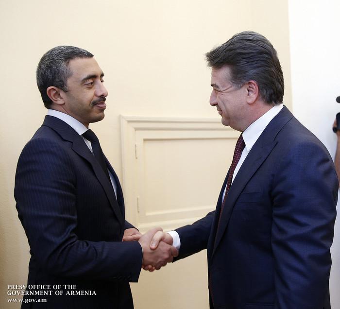 Премьер: Армяно-эмиратские отношения – один из лучших примеров сотрудничества между Арменией и арабскими странами
