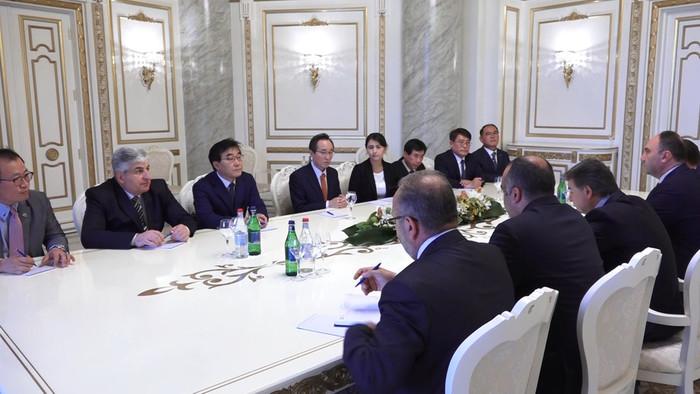 Карен Карапетян: Ереван заинтересован в развитии армяно-корейских связей