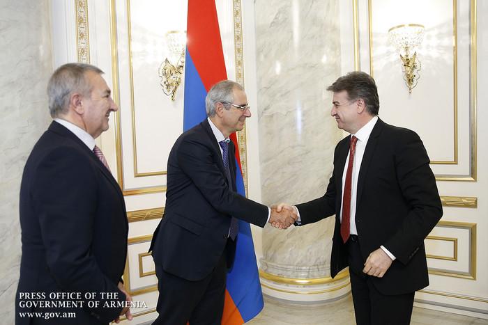 Премьер Армении и представитель компании «Allianz Group» обсудили возможности сотрудничества в сфере страхования