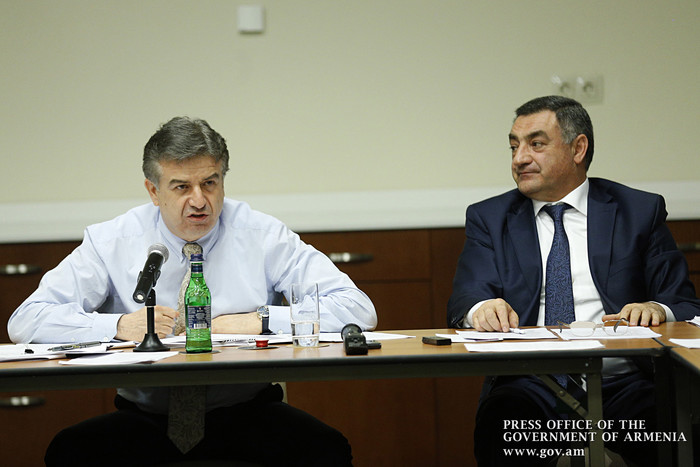 Мы должны обеспечить современное и качественное образование: совещание премьера Армении К.Карапетяна в Вайоцдзорской области