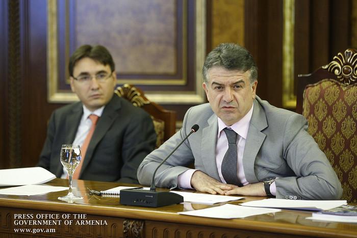 Правительство Армении обсудило вопросы сотрудничества государства и частного сектора