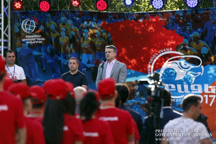 Премьер-министр Армении: <div class=