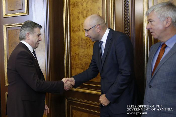 Региональный директор Немецкого банка развития KfW подчеркнул высокие темпы роста ВВП Армении