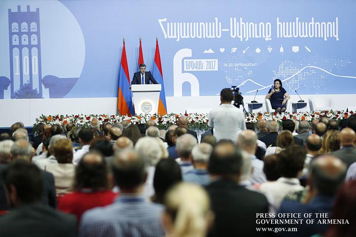 Премьер Армении: Армяне не должны обижаться друг на друга, нужно расправить плечи и продолжить начатое дело
