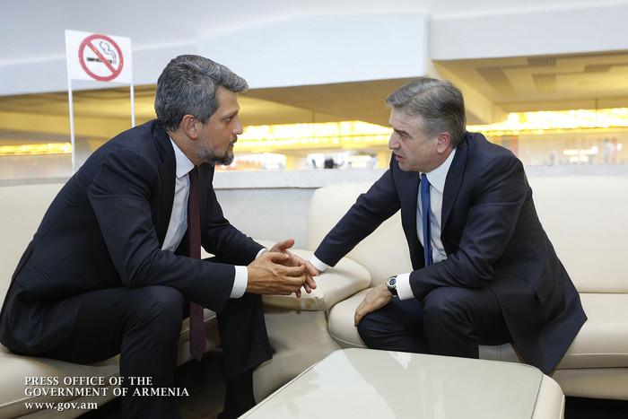 Пайлян: Я приехал в Ереван для обсуждения с властями вопроса о нормализации армяно-турецких отношений