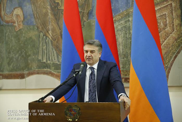 Карен Карапетян поручил разобраться с причинами спада в сфере сельского хозяйства