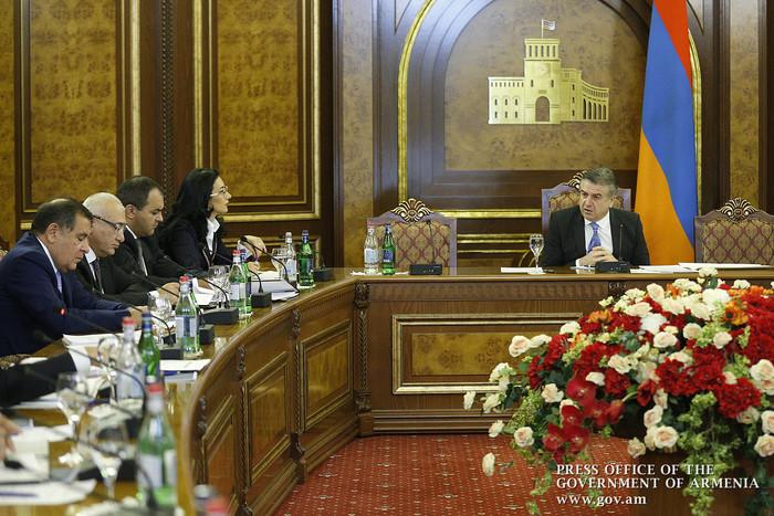 В правительстве Армении обсуждены вопросы международного сотрудничества в сфере борьбы с коррупцией