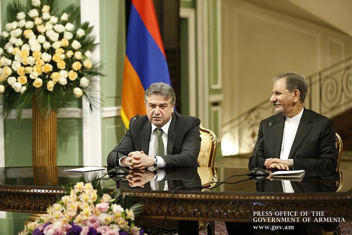 Исхак Джахангири: Армения занимает важную позицию во внешней политике Ирана